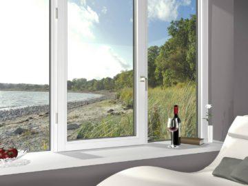 BDV Windows uitzicht zee zetel wijn