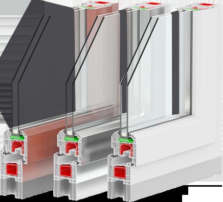 BDV Windows doorsnee raamvleugel